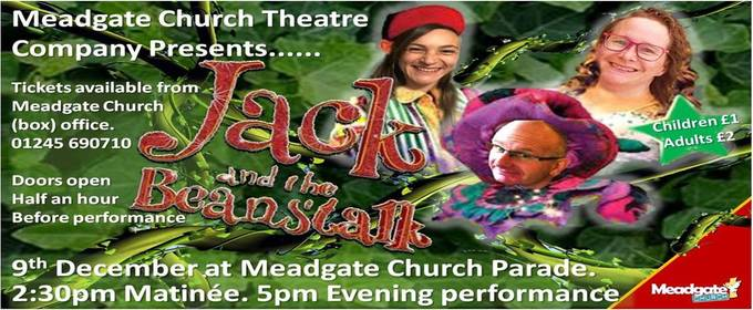 Christmas Panto - Jack and the beanstalk 9th December 2017